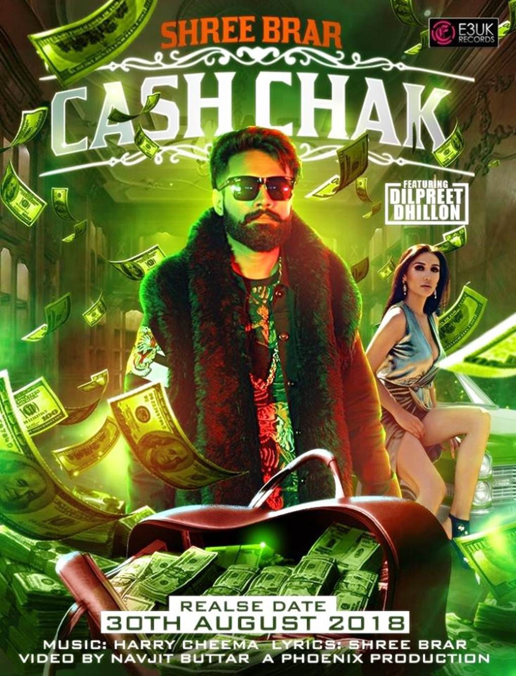 Cash Chak by Shree Brar Full Video Download mp3 or watch Online