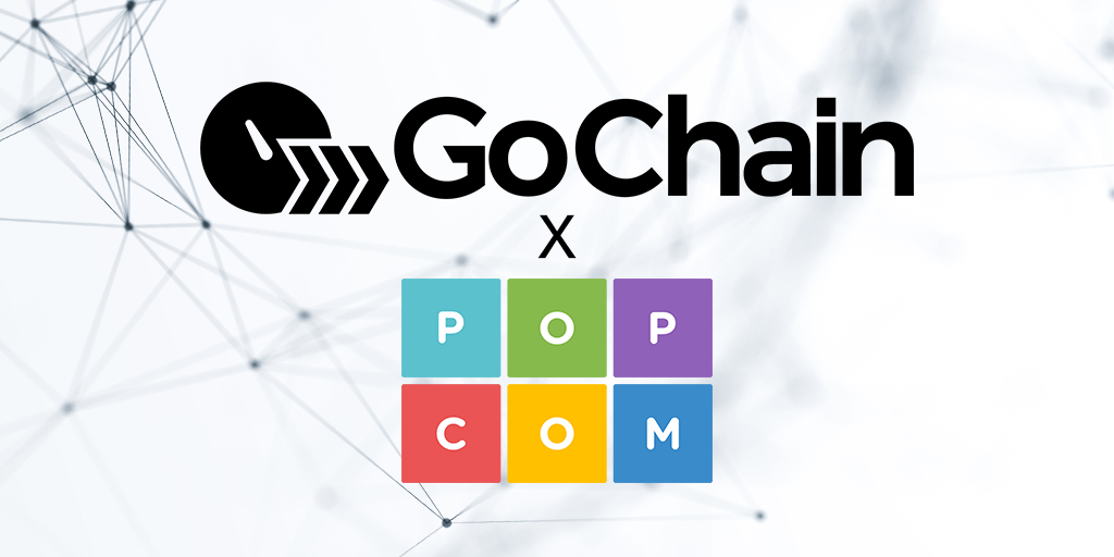 GoChain Partners with PopCom to Build Compliant Pharmaceutical