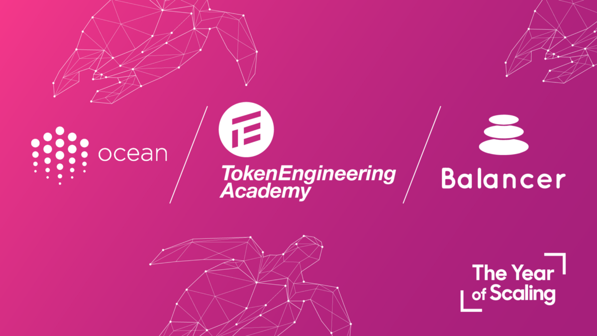 Ocean Protocol partners with Token Engineering Academy for Ocean Market Balancer Simulations