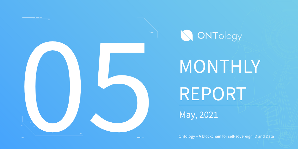 Ontology Monthly Report — May 2021