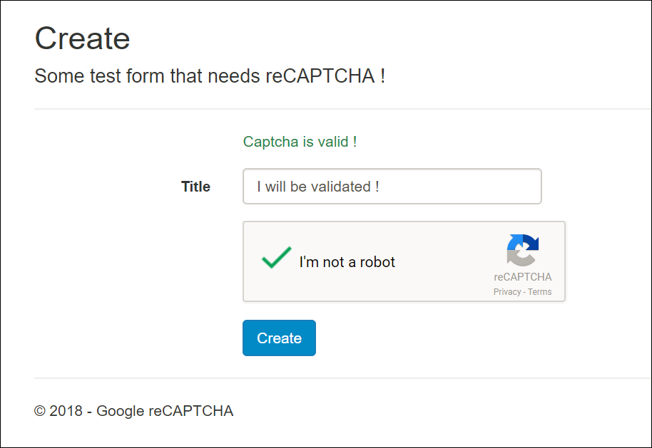 Google reCAPTCHA in ASP NET MVC - Moien Tajik - Medium