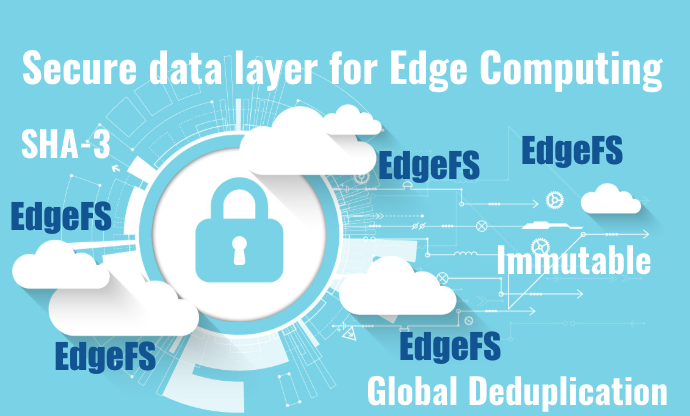 Securing and Deduplicating the Edge with EdgeFS