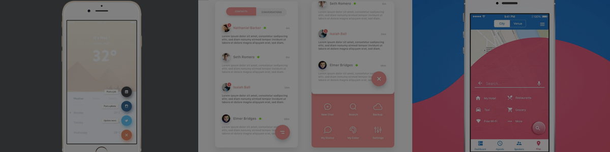 Compact & Powerful: Great Examples of Floating Action Buttons in Interfaces