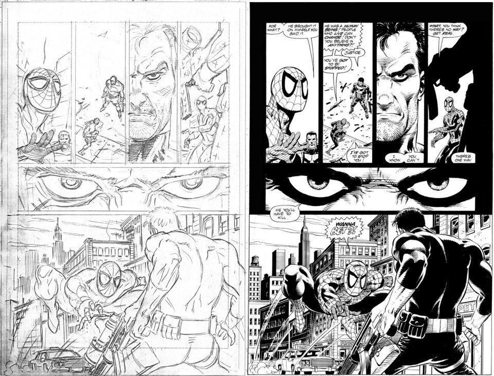 To Think of Ink: The Role of the Comic Book Inker - Tho