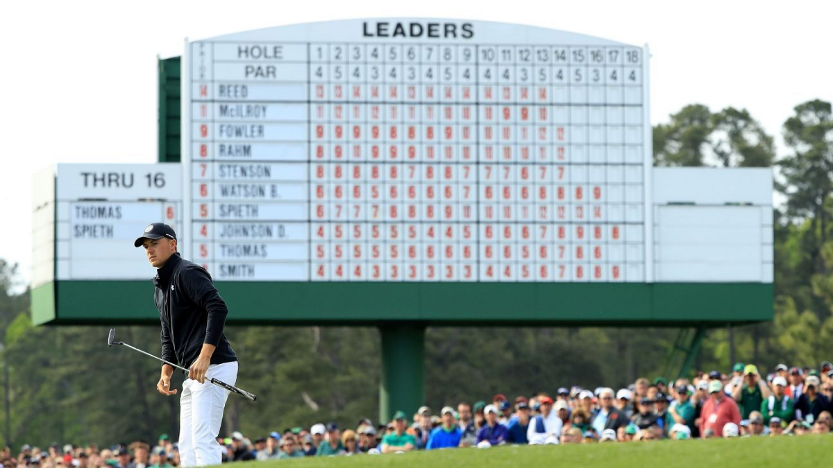 Revisualizing The Masters Leaderboard | by Michael David ...