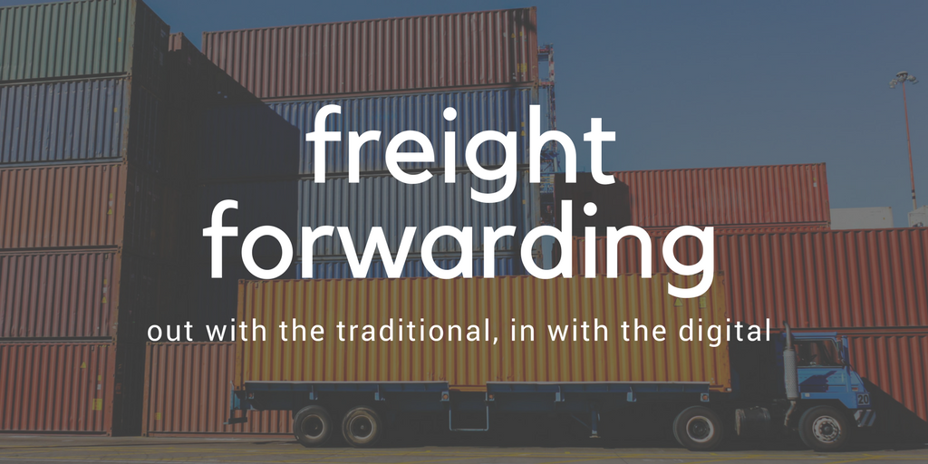 Contrasting a traditional and online freight forwarder