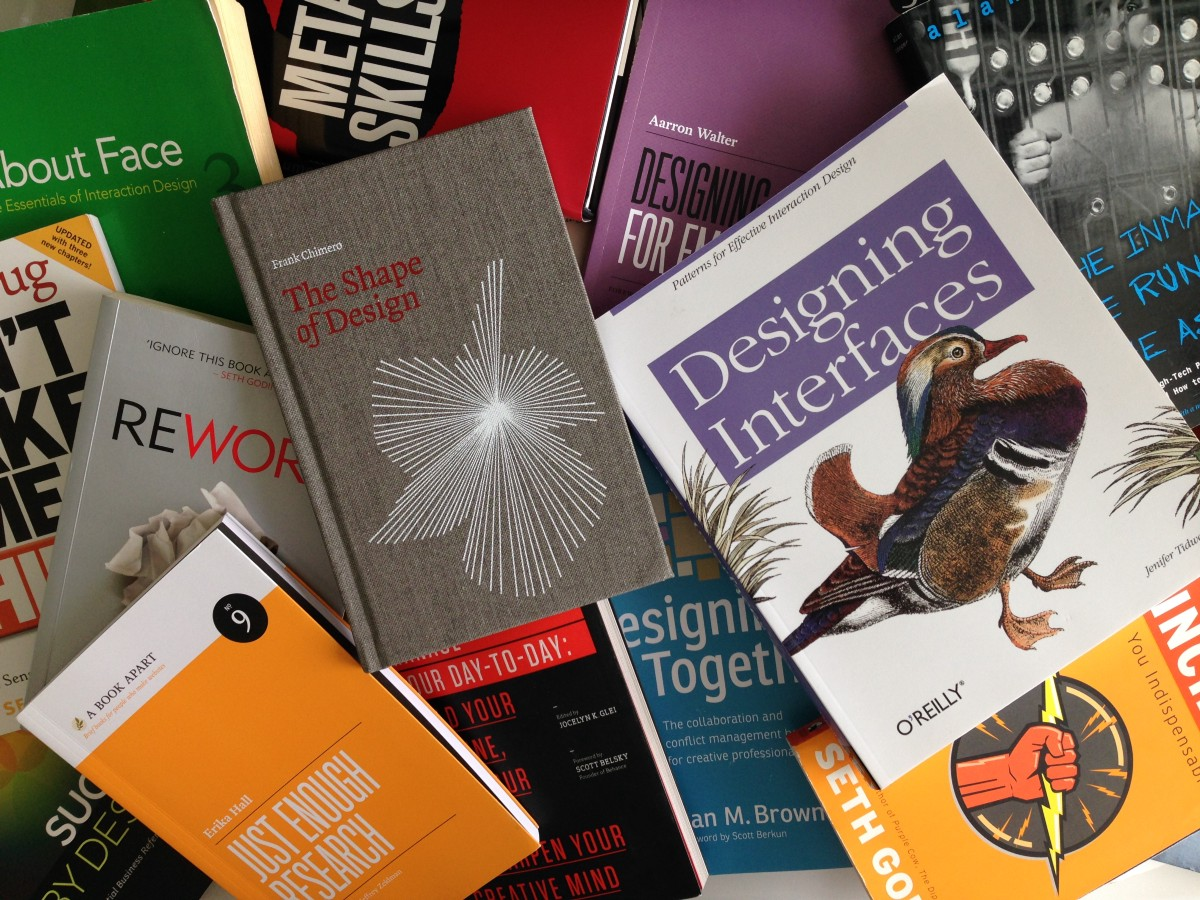 The Only Ux Reading List Ever A Recommended List Of The Books That By Simon Pan Interactive Mind Medium
