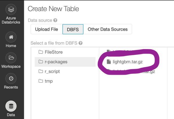 Custom Libraries in Databricks: a SparkR Example with LightGBM