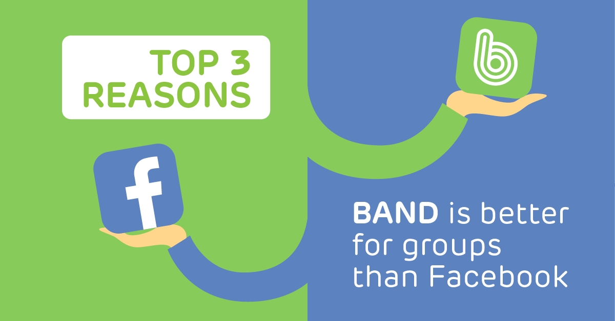Should I Use BAND or Facebook Groups? - BAND for groups