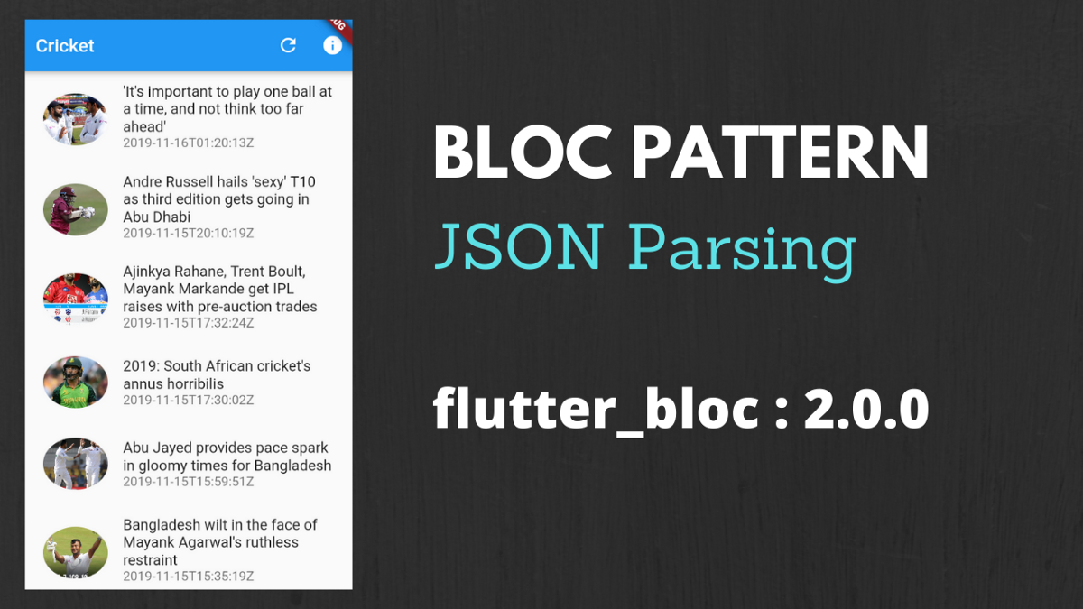 Implementing BLoC Pattern for parsing JSON from API