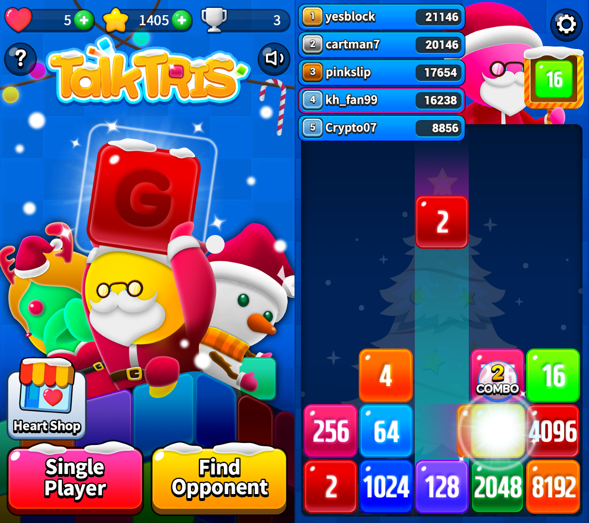 Ludena Protocol Releases New Multiplayer Rewards-Based Game, Talk!Tris!