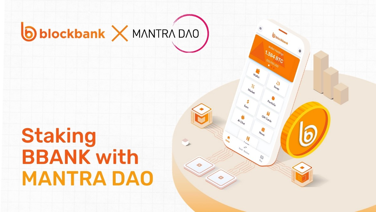 $BBANK is now available on Mantra DAO Staking