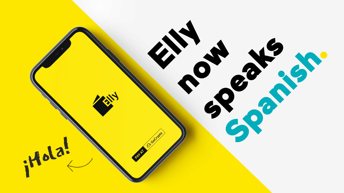 The Elly all-in-one crypto wallet now speaks Spanish!