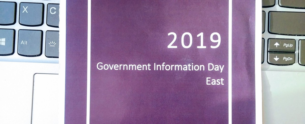 Open Data in Libraries | 2019 Government Information Day East