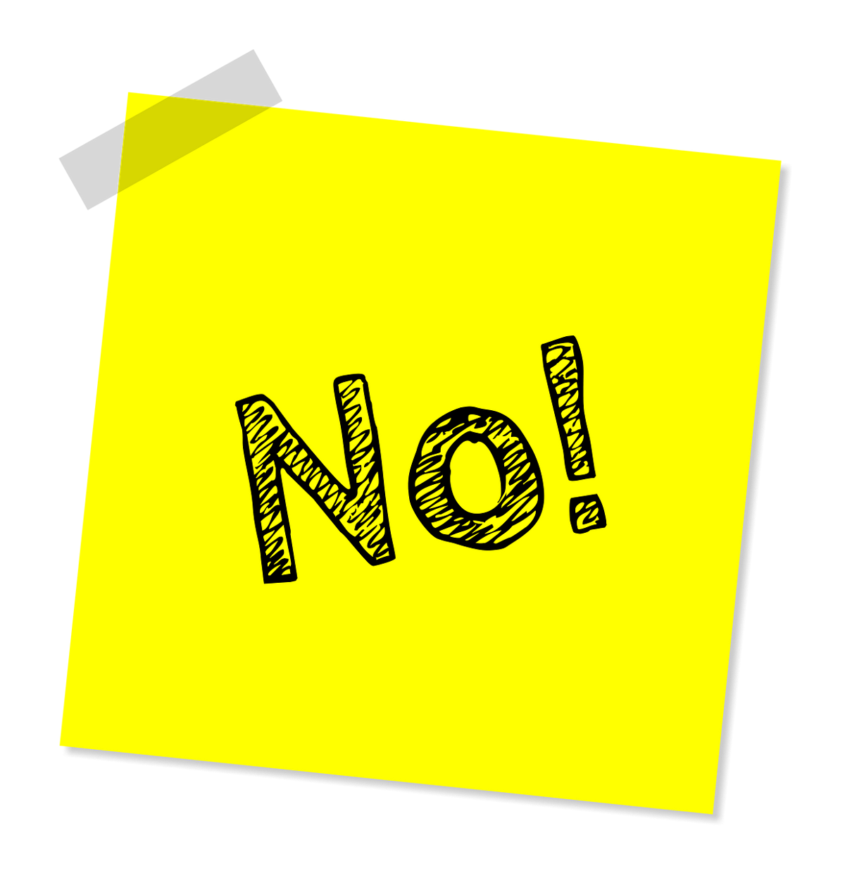 How to become adept at the art of saying NO, gently