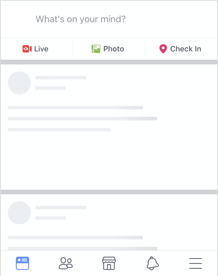 Facebook loading labels animation — Simple approach for Skeleton