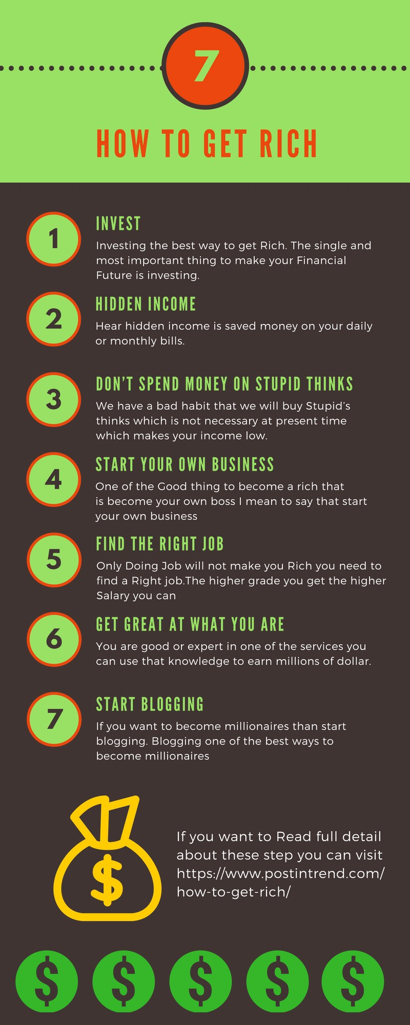 How To Get Rich: 7 Best Proven Ways To Get Rich 2018