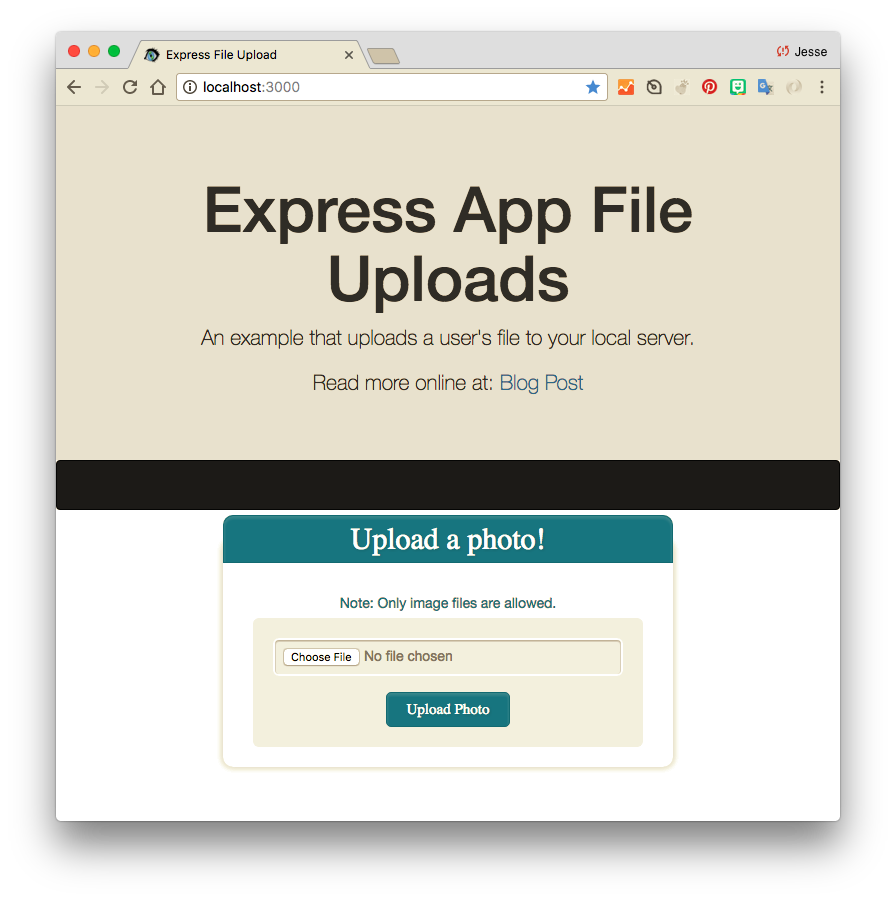 How To Make A Basic HTML Form Upload Files To Your Server Using