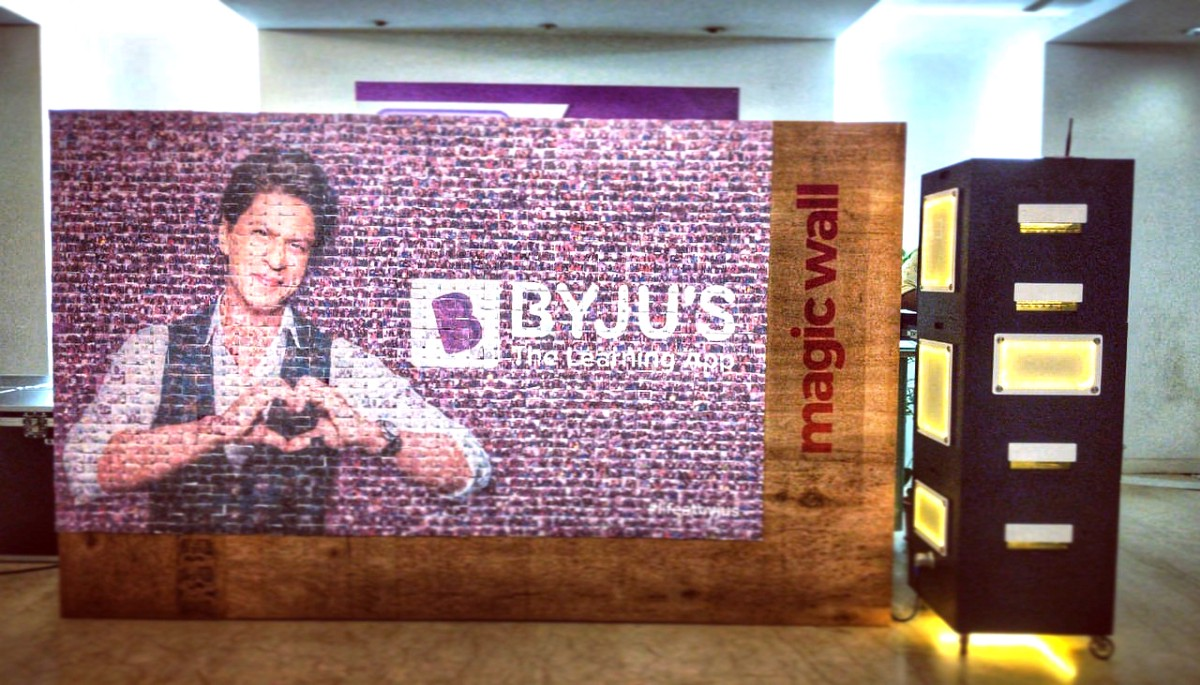Magic wall at Byju's. Behind the scenes | by John Mathew | Riafy Stories