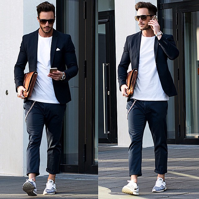 16 Ways You Can Wear Sneakers At Work