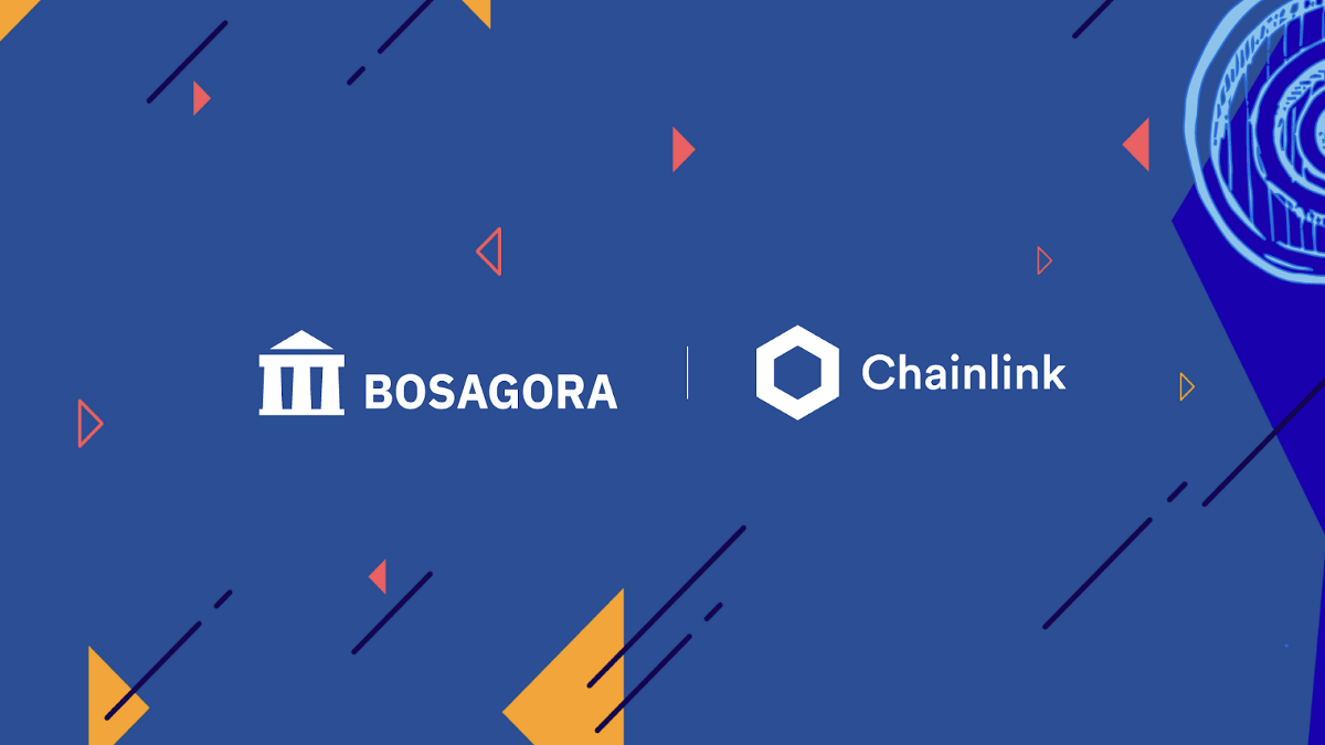 BOSAGORA integrates with Chainlink!