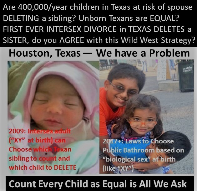 Are 400,000/year children in Texas Nexus at risk of being DELETED as