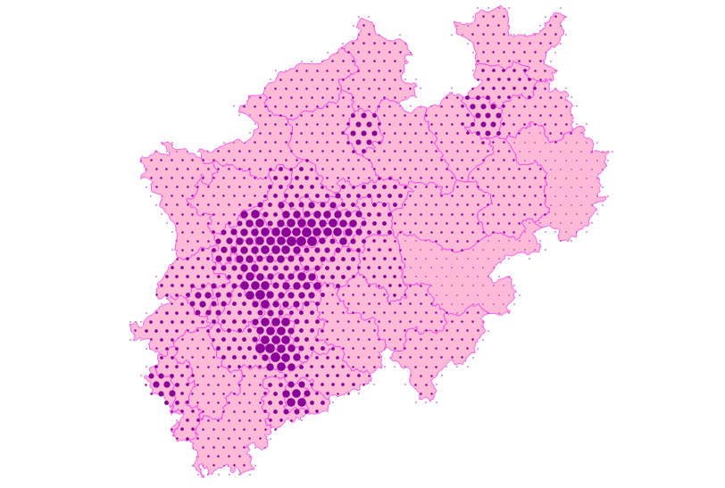 Hex grid algorithm for PostGIS - Dennis Bauszus - Medium