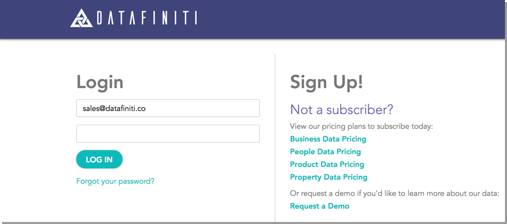 A Year of Revamp: Datafiniti Launches A Newly Redesigned User Portal