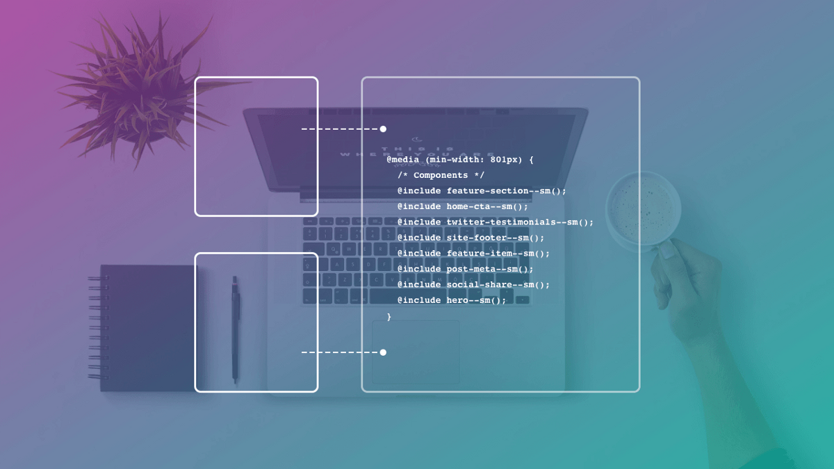 Solving Sass's media query duplication problem and enhancing