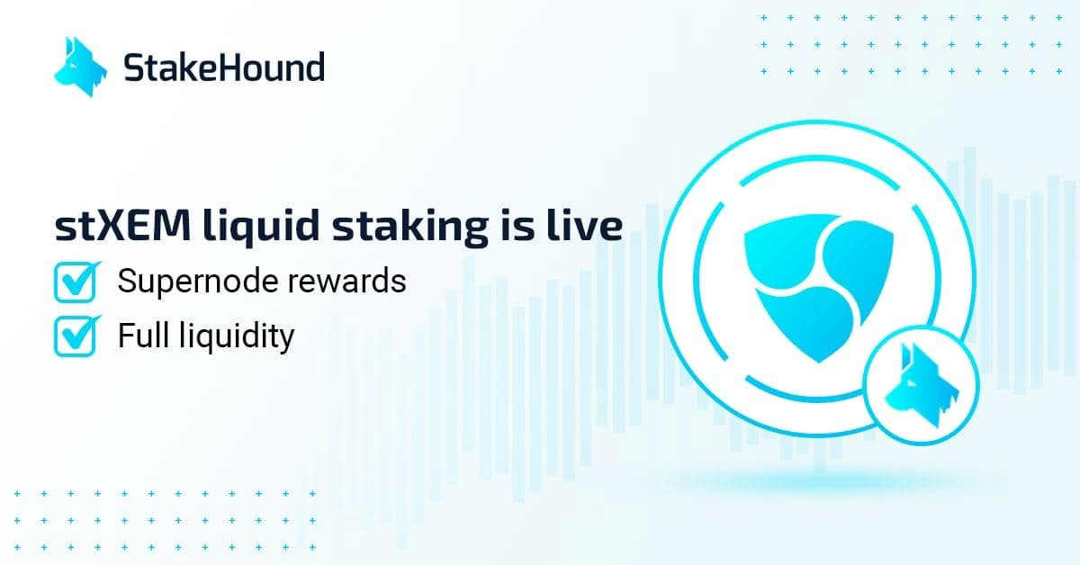 Liquid staking with stXEM is now live!