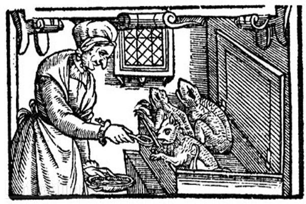 Witches' Familiar engraving 1579