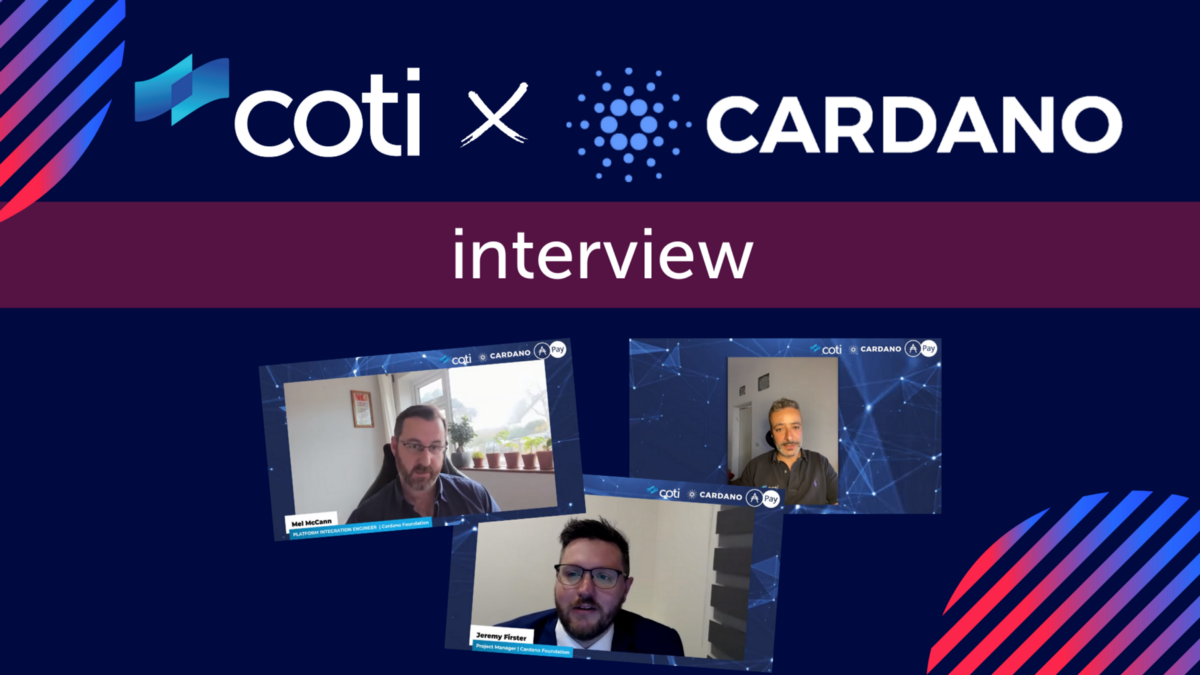 Shahaf Bar-Geffen Meets The Cardano Foundation Team For a Fascinating Interview!
