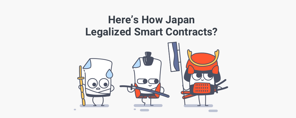 The Japanese Evolution Of Smart Contracts