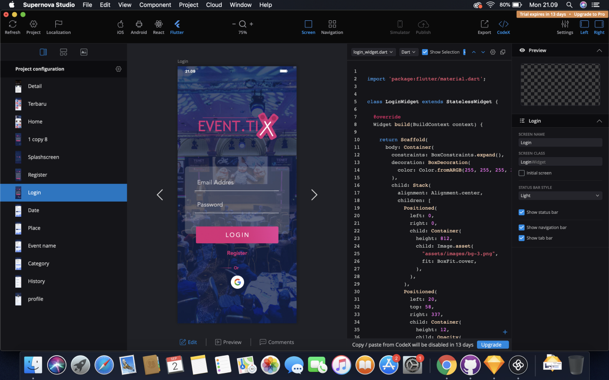 The Easy Way to Make Layout Designs on Flutter