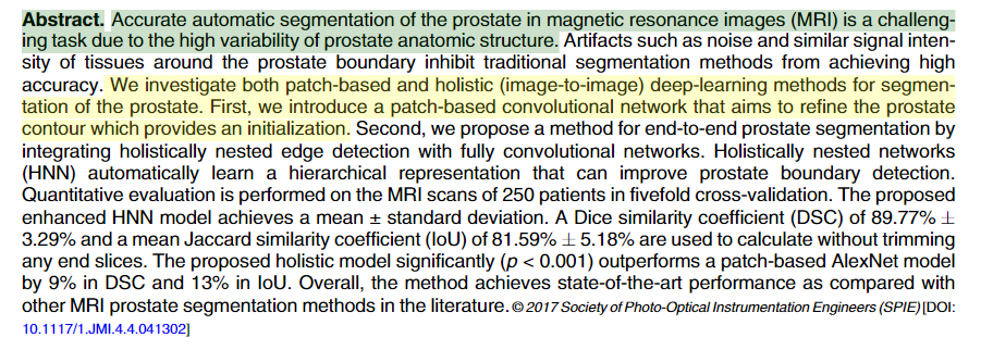 Archived Post ] Automatic magnetic resonance prostate