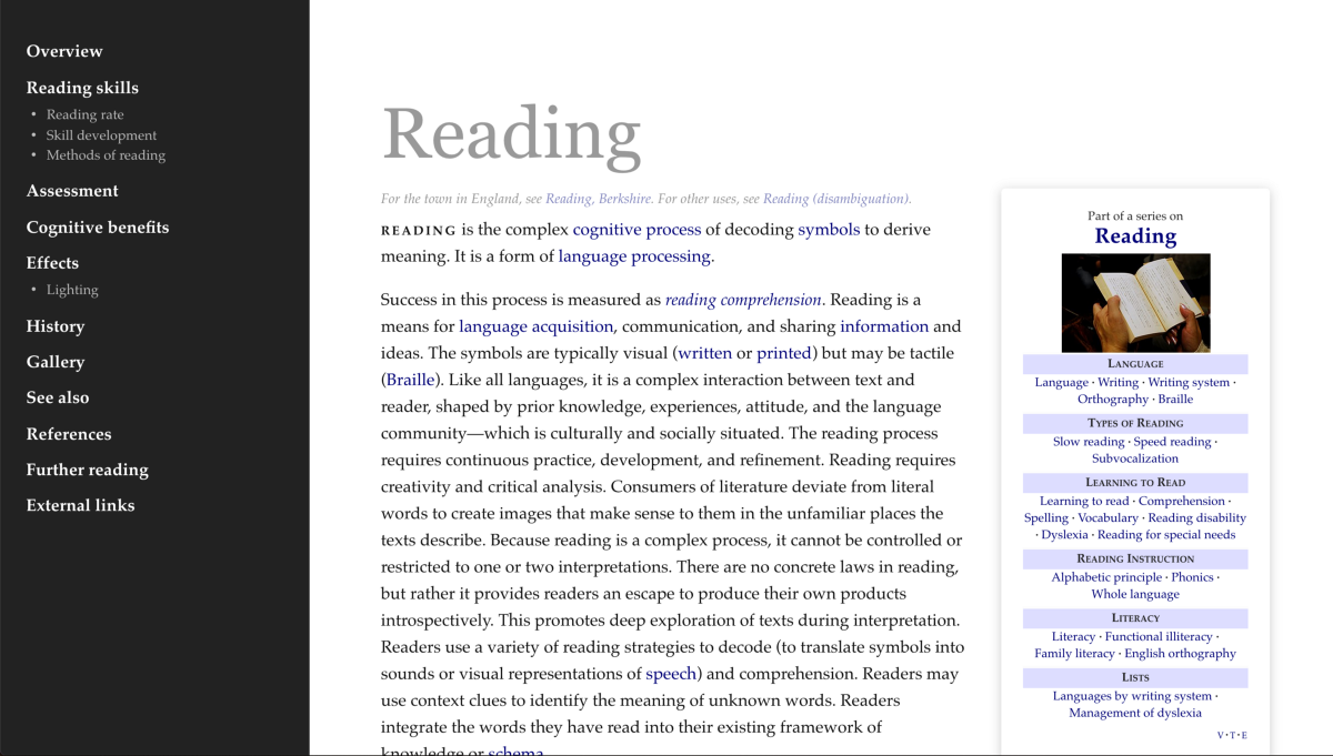 How I hacked Wikipedia to make it more readable - Noteworthy - The