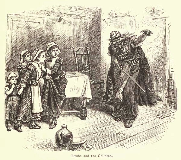 Salem witch trials: Tituba dances and scares young girls