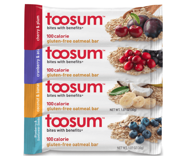 Toosum Oatmeal Breakfast Bars — Gluten-Free Nutritious Snacks?