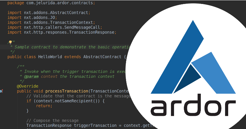 Deploy your first Ardor Lightweight Contract - Good Audience