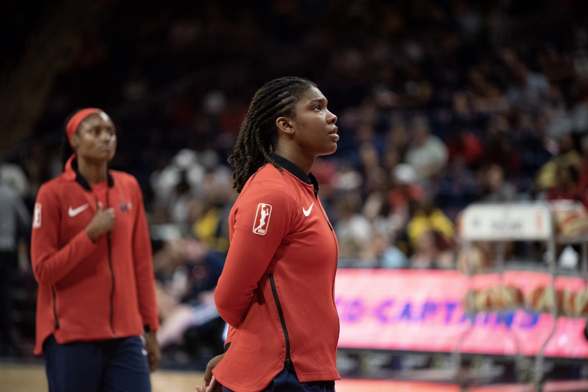 Washington's Myisha Hines-Allen may be called upon down the stretch — and she's ready for it