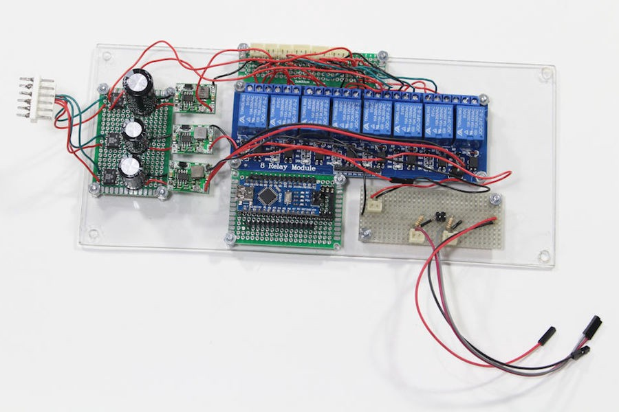 Graphical Pool Control with Raspberry Pi and Arduino