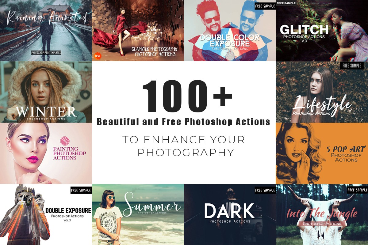 100+ Beautiful and Free Photoshop Actions - Syed Faraz Ahmad