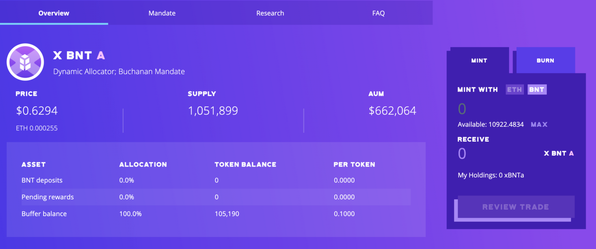 xBNT is Live: Auto-Compounding Liquidity on Bancor Pools