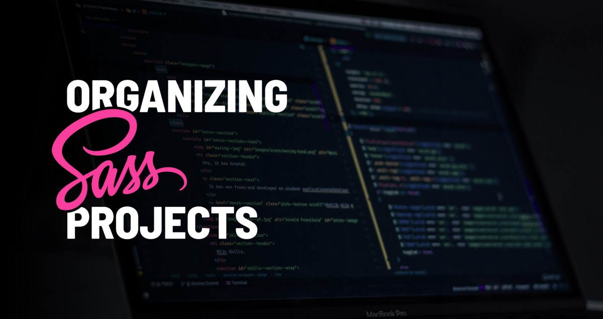 How I organize Sass projects