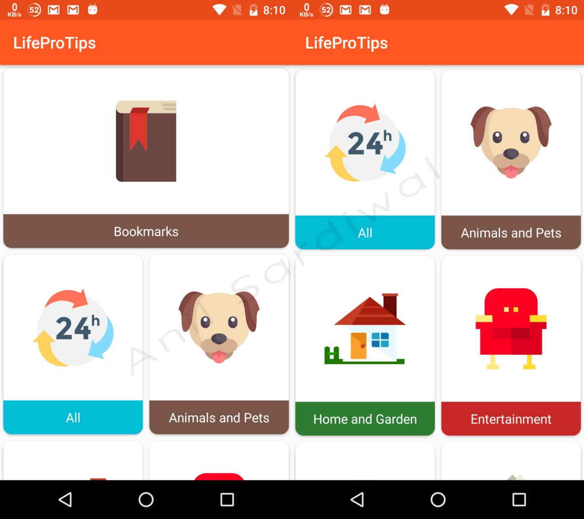 How to make first item of RecyclerView of Full Width with a