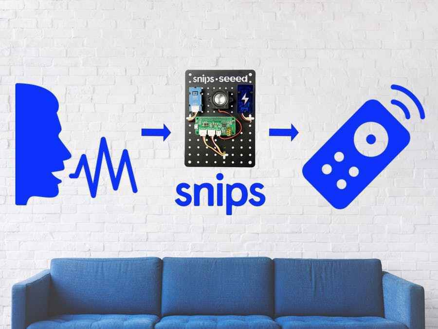 Infrared Voice Controlled With Snips - Snips Blog - Medium
