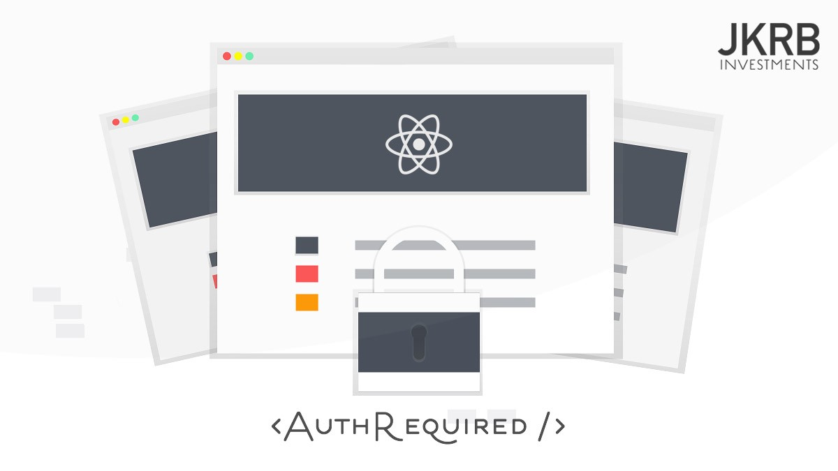 React Router: Require Authentication With Singular Component
