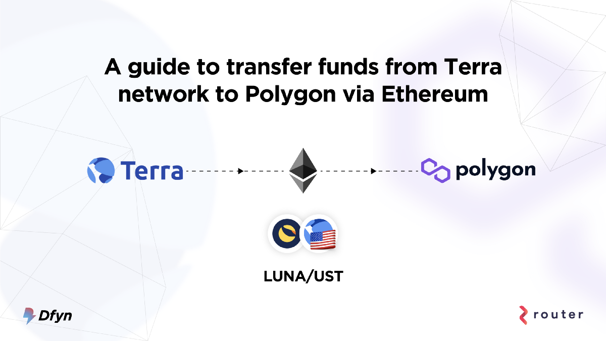How to Transfer Funds from Terra Network to Polygon—Part 1/2: Via Ethereum Network