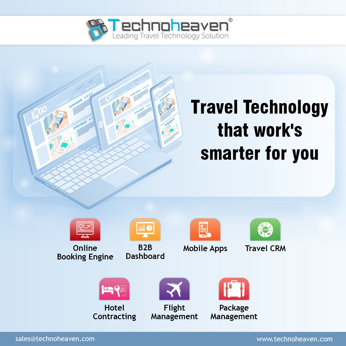 How to choose the best travel technology company? - Travel Agency