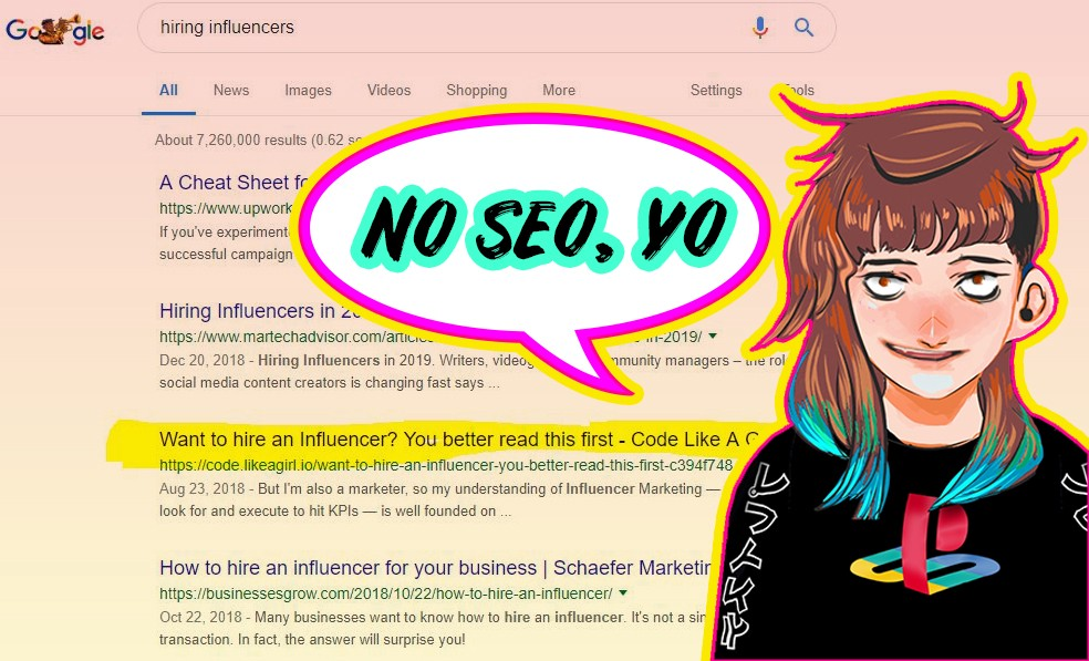 How to Rank on Google with NO Keyword Research - THERE IS NO DESIGN